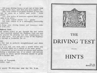 driving hints